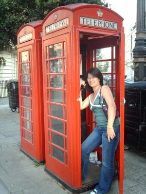Элеонора в Лондоне. 2008