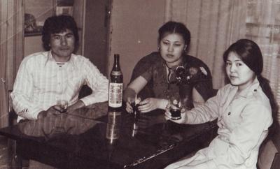 Я в гостях у Гульнары, 1981. г. Раменское