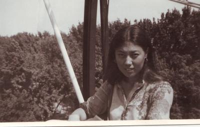 Гульнара в первый год замужества. Лето, 1983