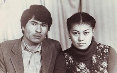 Мы поженились. Зима, 1983