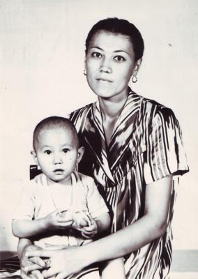 Родилась дочь Зиба. 1984