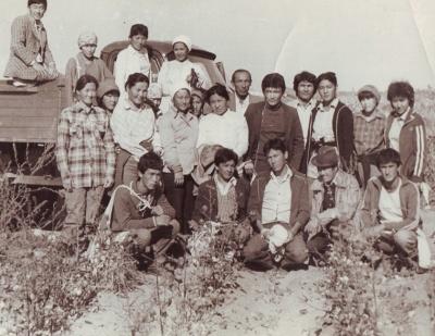 На хлопковом поле. 1985